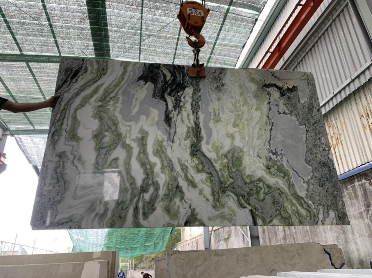 xanh ngoc marble